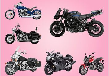 Motorbikes - бесплатный vector #150067