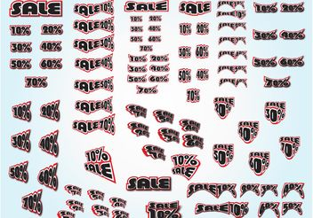 Sale Graphics Bundle - Kostenloses vector #150417