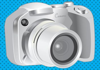 Camera Vector - Kostenloses vector #150877