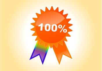 Badge Vector - Free vector #150967