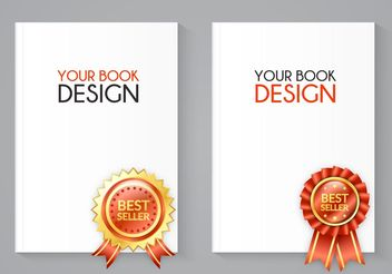 Free Best Seller Book Vector Set - Free vector #151207