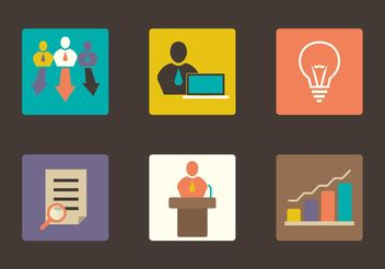 Company Icons - Free vector #151557