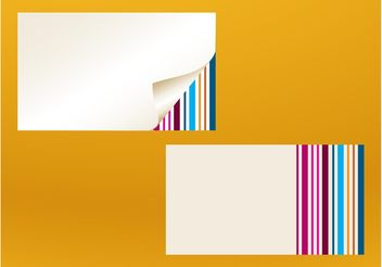 Business Cards Templates Vector - vector gratuit #151717