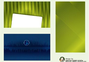 Business Cards Vector - бесплатный vector #151757