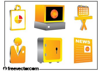 3D Corporate Graphics - vector #151847 gratis