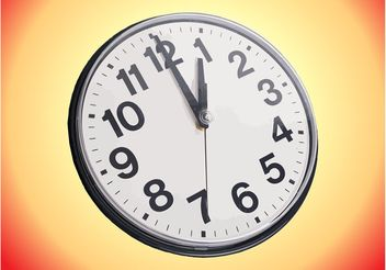 Clock Image - Free vector #152067