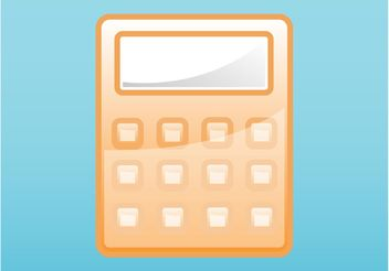 Calculator Icon - vector #152077 gratis