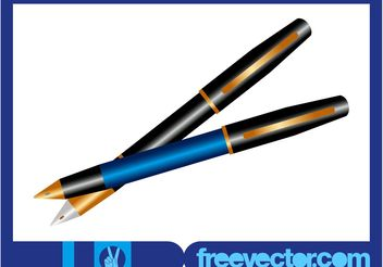 Vector Pens - Free vector #152107
