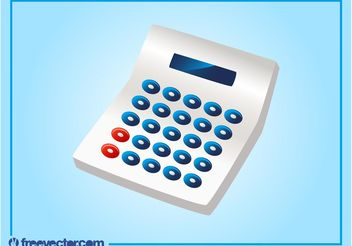 Calculator Vector - Free vector #152127