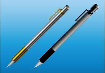 Metal Pens - бесплатный vector #152157