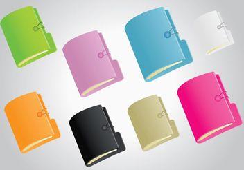 Folders - vector #152347 gratis