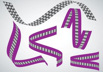 Ribbon Shapes - vector #152397 gratis