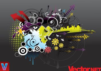 Urban Design - Free vector #152407