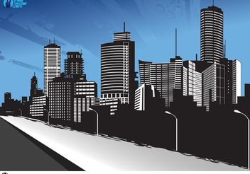 City - vector gratuit #152467
