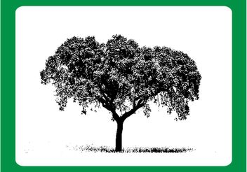 Tree Brush - vector gratuit #152587