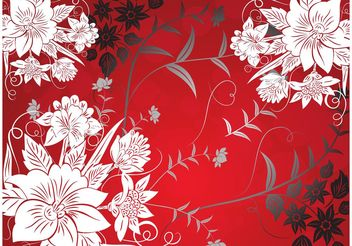 Flowers Vector - Free vector #153167