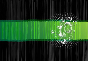 Green Vector Background - vector gratuit #153407