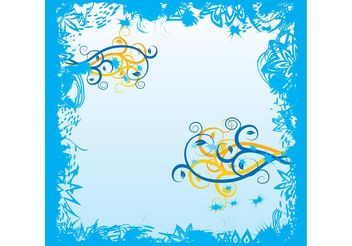 Flowers Vector Art - Free vector #153417