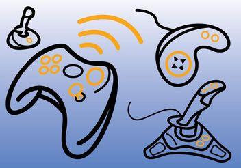 Game Consoles Vectors - бесплатный vector #153557