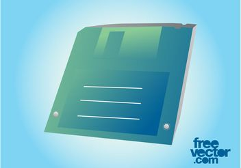 Floppy Disk Graphics - Free vector #153797
