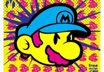 Super Mario - Free vector #153897