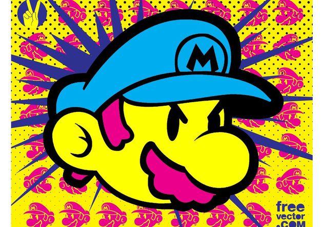 Super Mario - бесплатный vector #153897