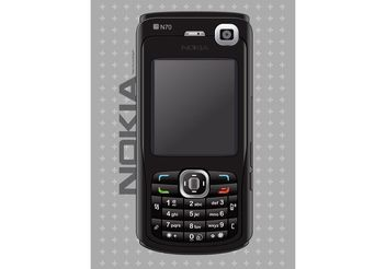 Nokia Mobile Phone - vector gratuit #154067