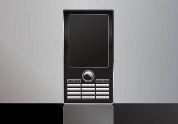 Free Mobile Phone Vector - vector #154107 gratis