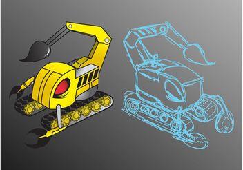 Scorpion Robot - Kostenloses vector #154267