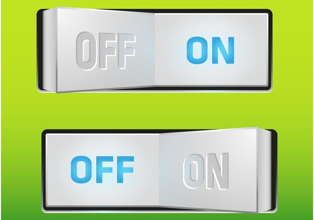 On-Off Switch - Free vector #154337
