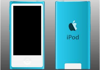 iPod Nano - Kostenloses vector #154357