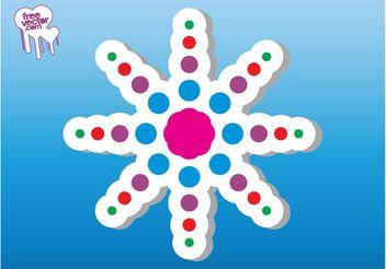 Abstract Sticker Design - Kostenloses vector #154757
