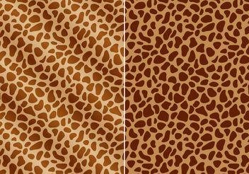 Free Giraffe Prints Vector - Free vector #155117