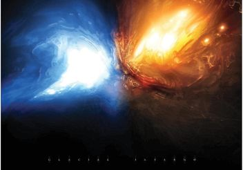 Glacial Fire Explosion - Free vector #155167