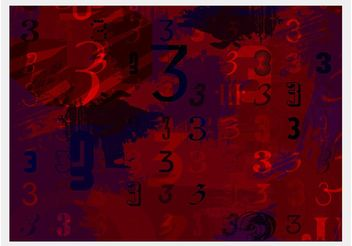 Number 3 Artwork - Free vector #155207