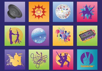 Music Graphics - vector gratuit #155687