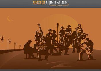 Tango Band - Kostenloses vector #155837