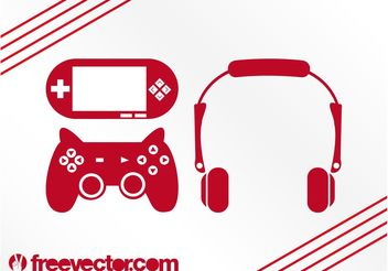 Game Icons - vector #156127 gratis