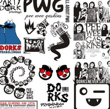 Pee Wee Gaskins Band - vector #156137 gratis