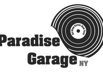 Paradise Garage - vector gratuit #156147