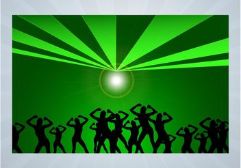 Party Flyer Design - Free vector #156257