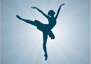 Vector Ballerina - Kostenloses vector #156337