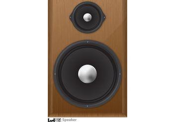 Speaker Vector - Free vector #156457