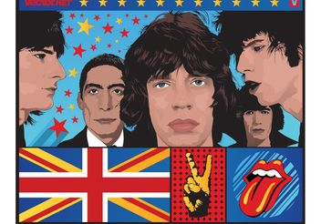 The Stones Vector - vector gratuit #156477