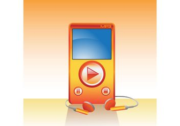 Free MP3 Player Vector - Kostenloses vector #156527