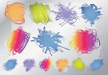 Free Scribbles Graphics - Free vector #156777