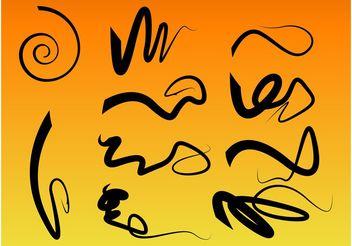 Scribbles - Free vector #156787