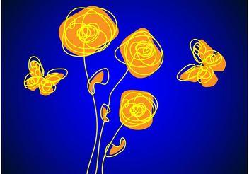 Spring Sketch - vector gratuit #156937