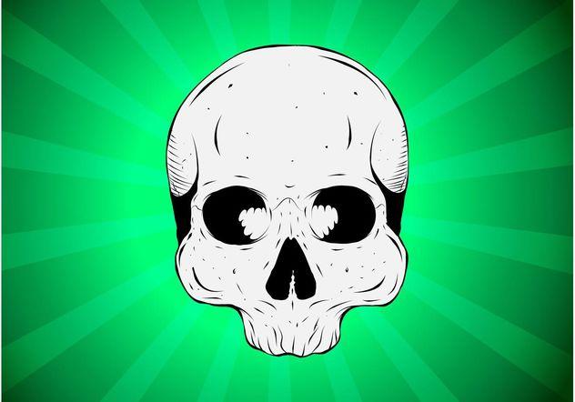 Absinthe Skull - vector gratuit #157007
