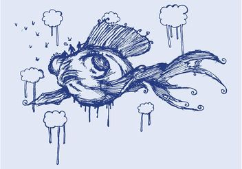 Fantasy Fish - Free vector #157107